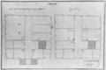 Thomas Lefèbvre (* 1636 in Brüssel; † 1720), Neues Schloß in Pforzheim, Grundriss 1. und 2. Obergeschoss.png